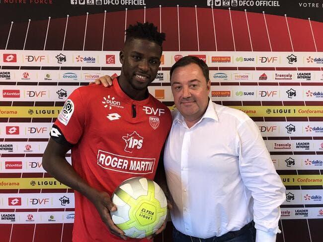 Officiel: Dijon fait signer Papy Djilobodji