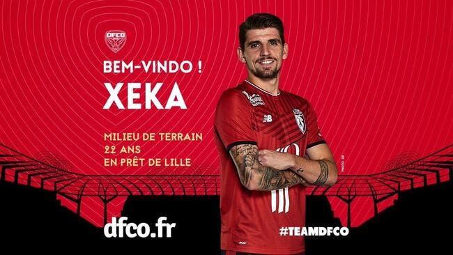Officiel : Lille prête Xeka à Dijon