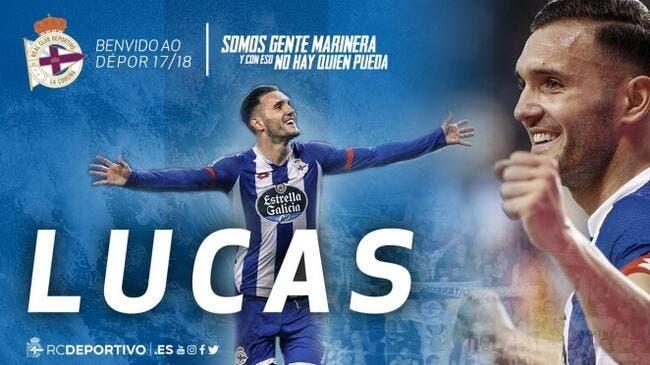 Officiel : Pisté par l'OM, Lucas Perez retourne à La Corogne