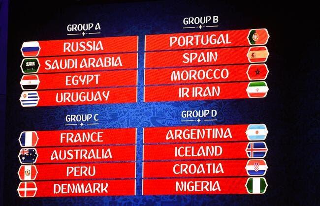 CdM 2018 : Russie-Arabie Saoudite en match d'ouverture de la Coupe du monde