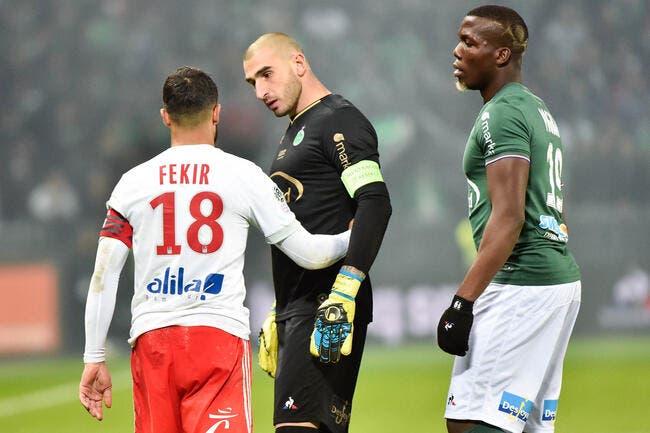 Double huis clos pour Saint-Etienne, Fekir gracié après ASSE-OL — LFP