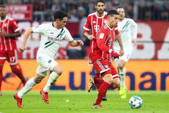 Bayern Munich - Hanovre : 3-1