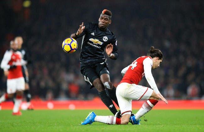 PL : Pogba expulsé contre Arsenal, Mourinho préfère en rigoler...