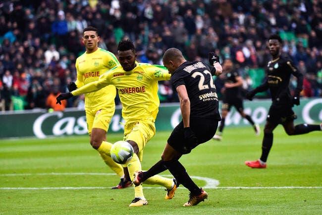 ASSE - Nantes : 1-1
