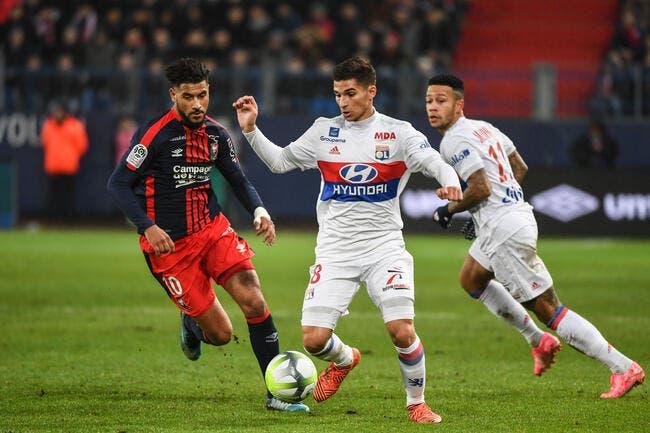 Caen - Lyon : 1-2