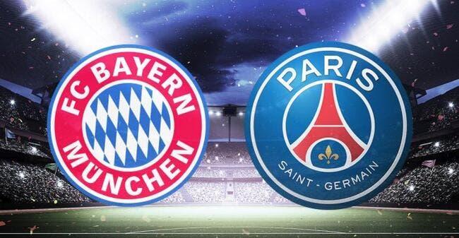 LdC : Bayern Munich - PSG : les compos (20h45 sur bein 1)