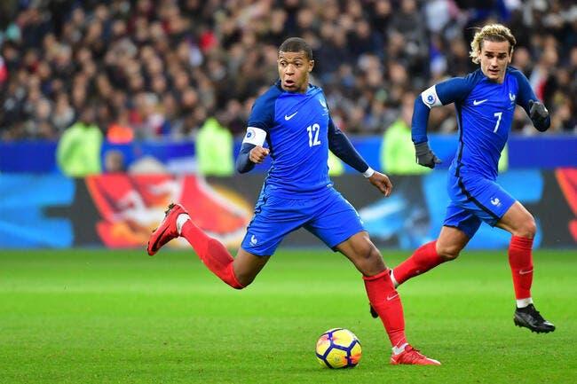 EdF : Griezmann footballeur préféré des Français, Mbappé débarque en force