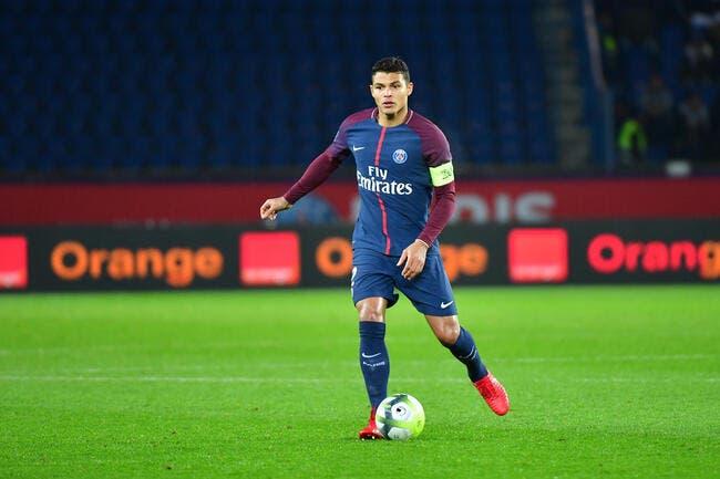 PSG : Indisponibilité longue durée pour Thiago Silva ?