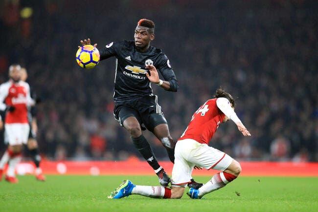 Suspendu, Pogba refuse d'abandonner Man United dans le derby