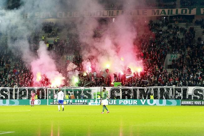 Le club condamne l'interdiction de ses supporters contre OM — ASSE