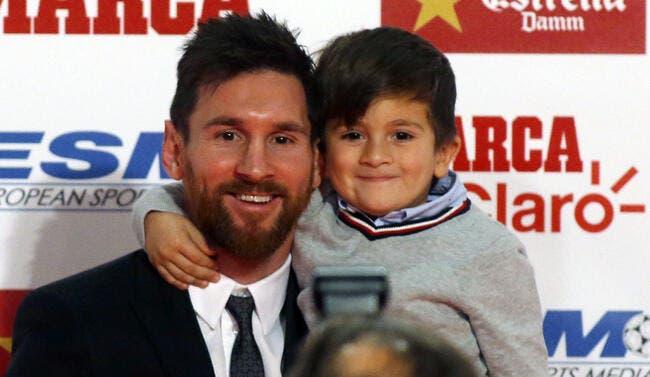 Barça: Le compliment dont le fils de Messi se serait bien passé