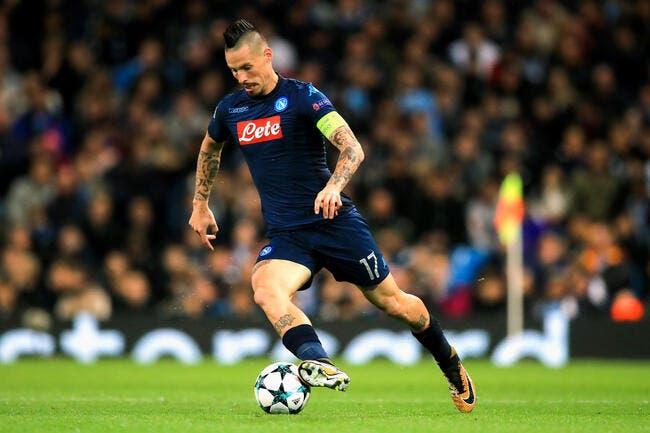 OL : Hamsik et Naples se mettent sur la route de Lyon en Europa League