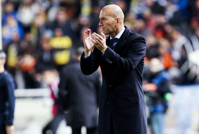 PSG: Zidane totalement scotché par le niveau du PSG