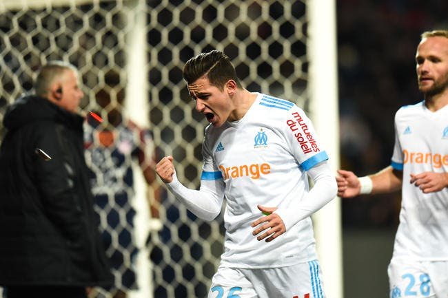 L1 - OM : Florian Thauvin incertain pour affronter Saint-Etienne