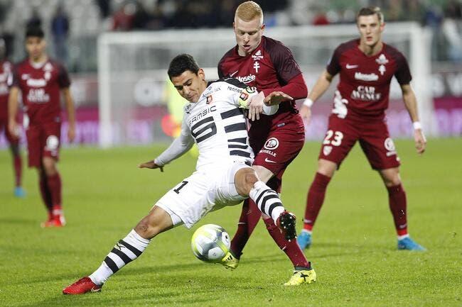 SRFC : Lamouchi a presque honte de priver Metz d'une victoire