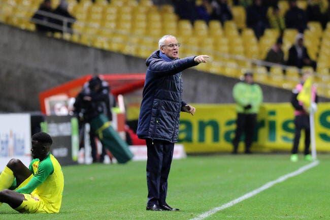 FCN : Déçu, Ranieri va martyriser ses joueurs jusqu'à la trêve