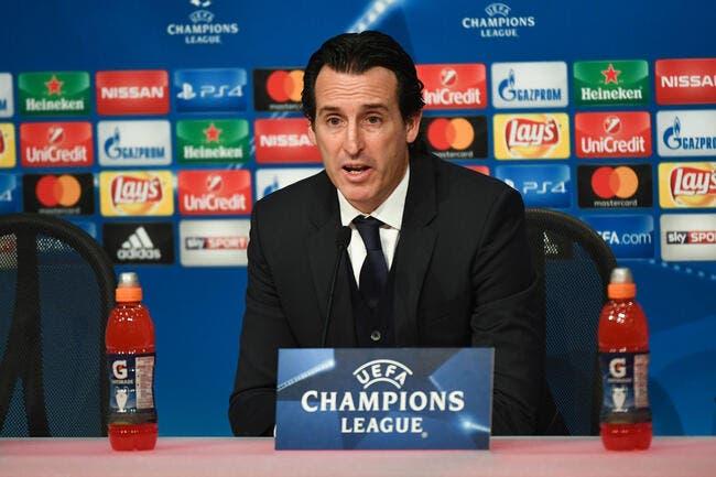 PSG : Emery voit le PSG «au niveau du Real Madrid»