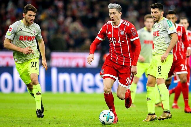 Bayern Munich - Cologne : 1-0