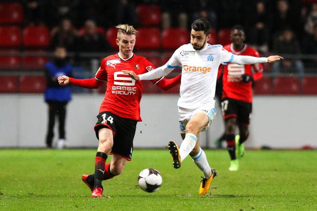 Rennes - OM : 2-2  (4 tab à 3)