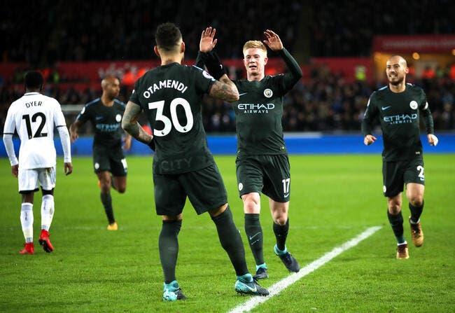 Swansea - Manchester City : 0-4
