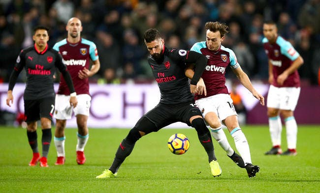 West Ham - Arsenal : 0-0