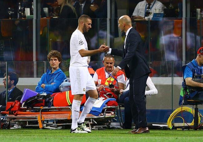 Zidane refuse de renforcer le Real pour protéger Benzema
