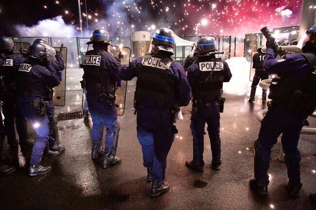 ASSE : Incidents à Geoffroy-Guichard, des CRS devant les vestiaires