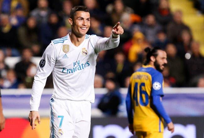 PSG: Cristiano Ronaldo avec la MCN, Al-Khelaïfi en rêve