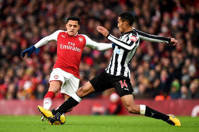 Arsenal - Newcastle : 1-0
