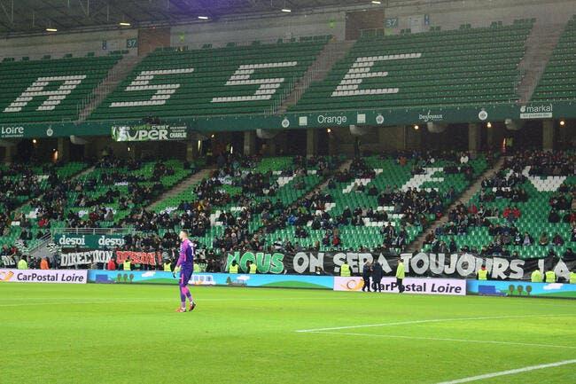 ASSE : Le club explique les incidents avec les supporters
