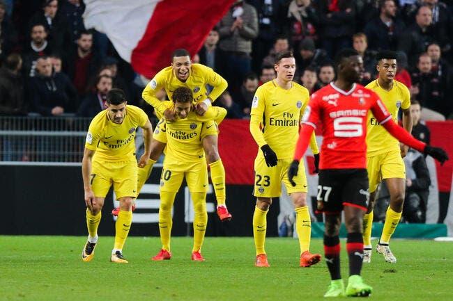 Le PSG bousculé à Rennes, la MCN s'occupe de tout