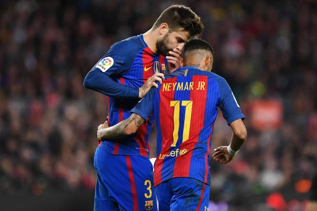 PSG : Piqué révèle pourquoi Neymar va rester au PSG