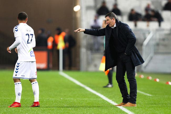 RCSA : Laurey calme ses troupes avant le derby à Metz