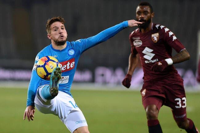 Serie A : Naples reprend la tête au Torino