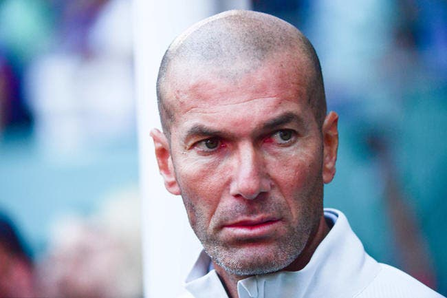 Zidane freine les plans du Real Madrid au mercato