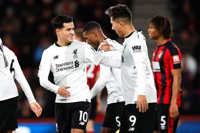 Premier League : Liverpool carbure à Bournemouth