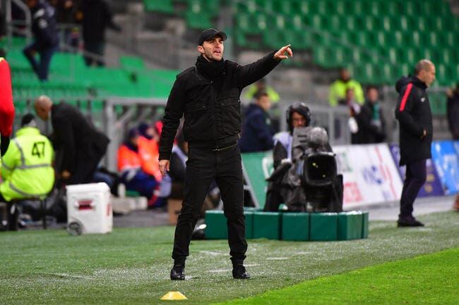 Jean-Louis Gasset nouvel entraîneur — Saint-Étienne