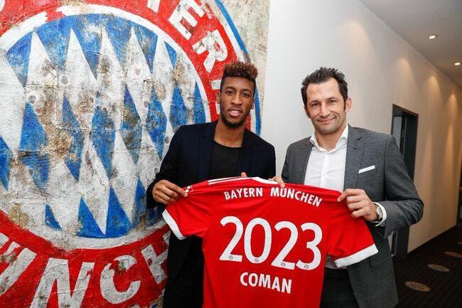 Bayern, Coman vers une prolongation ?