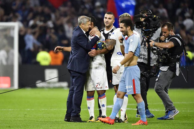 Aulas souhaite la Ligue des Champions au PSG — OL