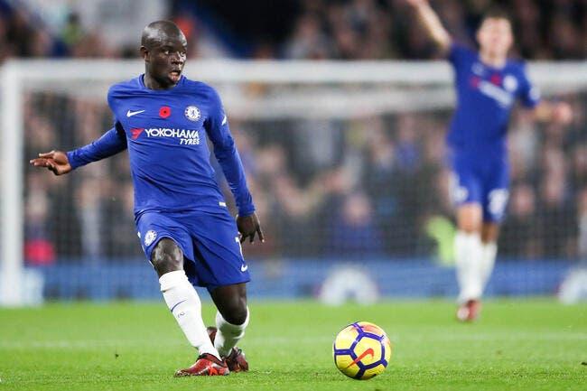 Foot: N'Golo Kanté joueur français de l'année 2017 devant Mbappé et Benzema