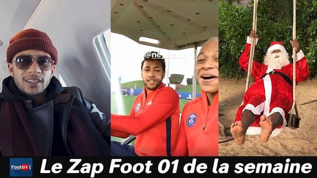 Memphis roi du rap, Griezmann papa poule, Neymar et Mbappé comme des gamins