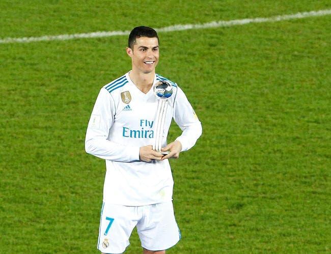 Real Madrid : Encore un trophée pour Cristiano Ronaldo !