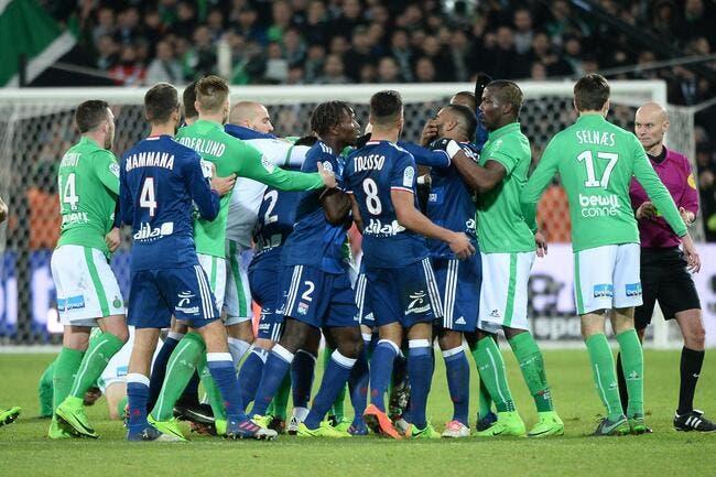 Saint-Etienne s'offre le derby face à Lyon