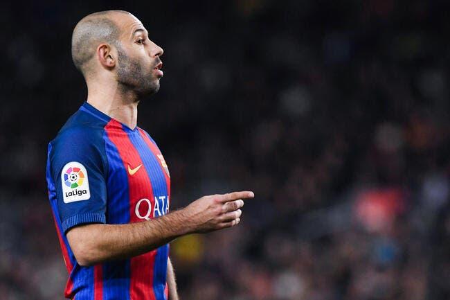 PSG-Barça : Mascherano absent contre le PSG au Parc des Princes ?