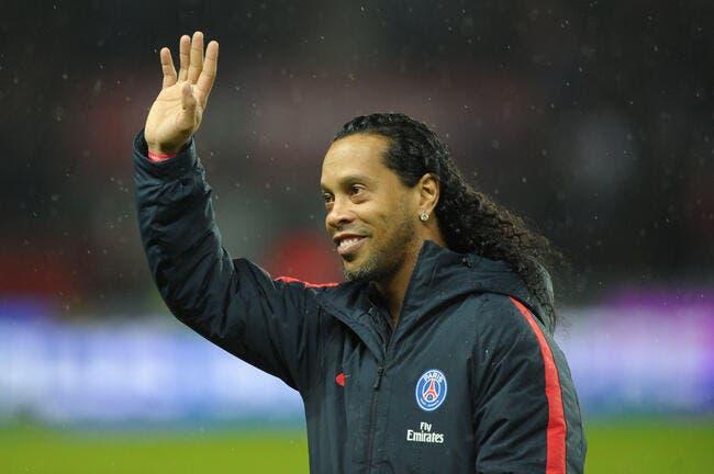 PSG-Barça : Ronaldinho refuse de regarder le match
