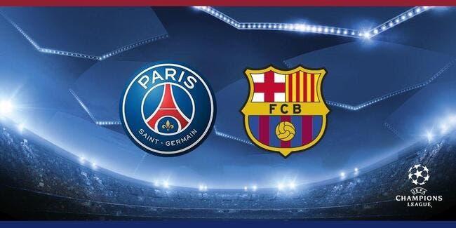 PSG - FC Barcelone : les compos (20h45 sur bein SPORTS 1)