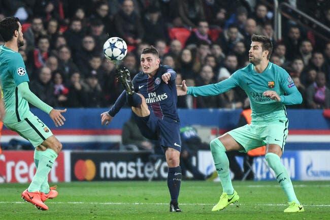 PSG: Verratti inflige une double peine au Barça