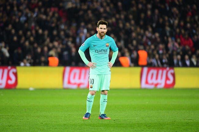 Barça: Le PSG pourrait provoquer le départ de Messi