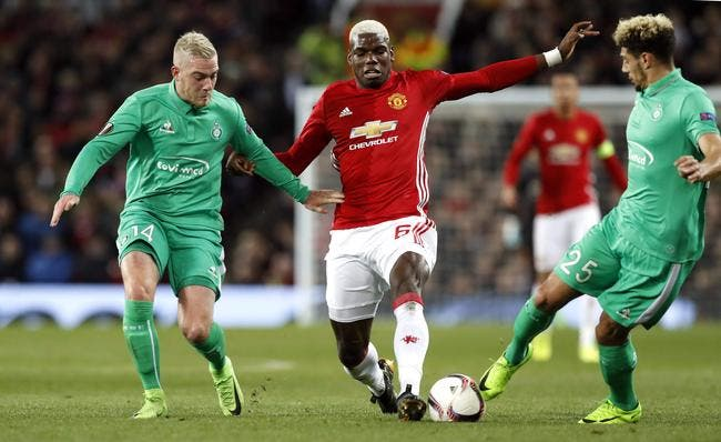 Manchester United - ASSE : 3-0