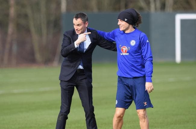 Chelsea : Le craquage totale de David Luiz avec un présentateur